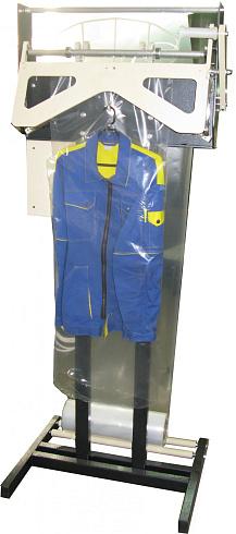Установка для упаковки верхней одежды - Производственный комплекс Потенциал